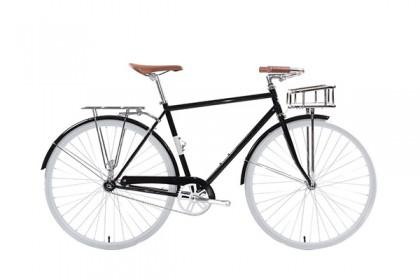 Hipster Grey City Bike