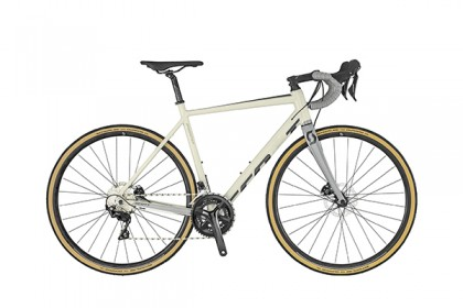 White Polygon City Bike
